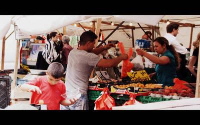 Market Day by Lilywen
