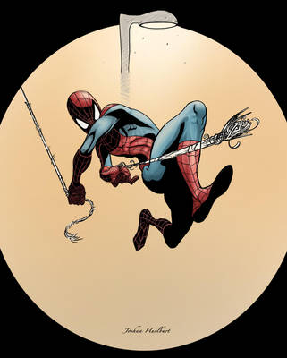 Spiderman Colored by JHurlburt
