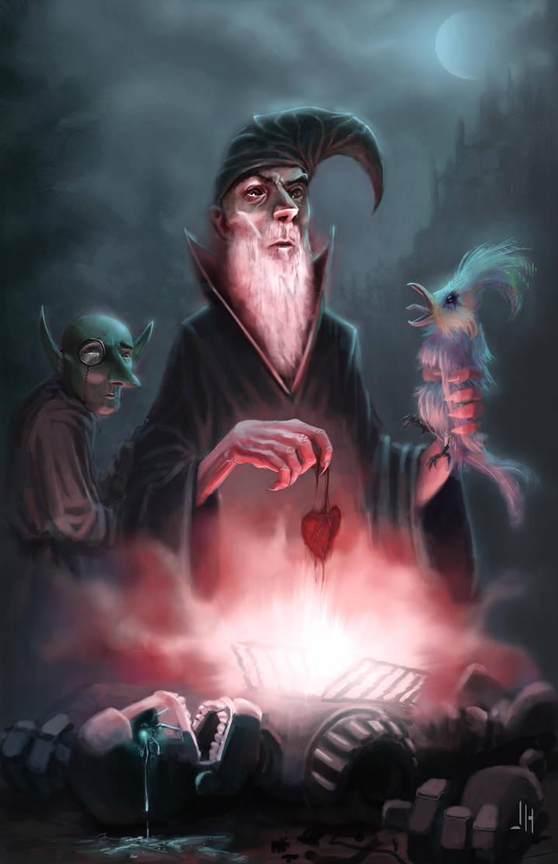 Wizard Heart by JHurlburt