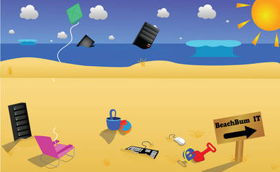Freelance - Beach Bum by magicfan89