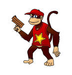 Diddy Kong Redesign - Full Color by Varia31