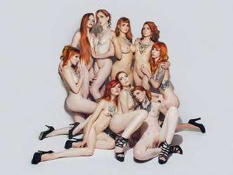 Gingerotica - Nine Gingers by Gingersnap-Pixie