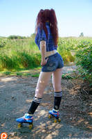 Skater-Girl Goes Off-Road - Teaser 3 by Gingersnap-Pixie