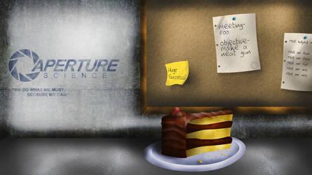 Portal: Still Alive Wallpaper by tlk742
