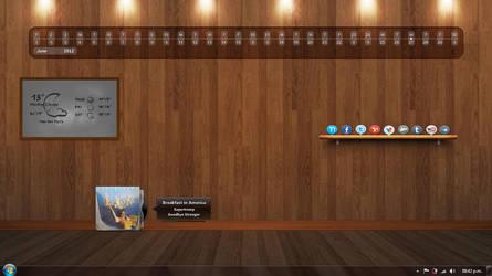 Wood Room by LeyendaV