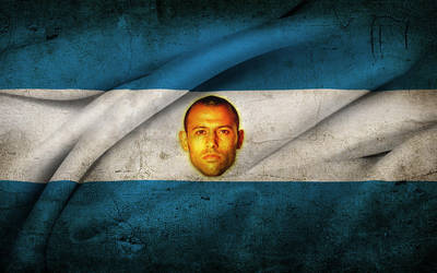 Mascherano evuelto en Bandera by LeyendaV