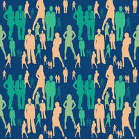 People Pattern unique by amdillon