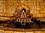 Ancient Fountain by Hunter-Arkaman