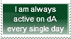 Active Every Day Stamp by Hunter-Arkaman