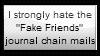 Anti-Fake Friends Stamp by Hunter-Arkaman