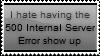 Anti-500 Internal Server Errors Stamp by Hunter-Arkaman