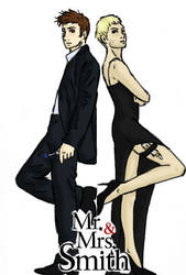 Mr and Mrs Smith by sparklingblue