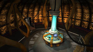 TARDIS Console Room 2005 by thy4205