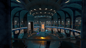 TARDIS console room - 2014 WIP by thy4205