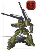 IMK-08A Deathstalker Cannon Re-imagine by dlredscorpion