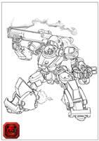 Fodder Unit Doodles by dlredscorpion