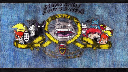 Studio Ghibli MGM Tribute by AuronTsubaki1985