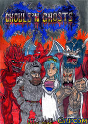 Ghouls N' Ghosts 30th Anniversary by AuronTsubaki1985