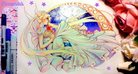 +~+ Neo Queen Serenity +~+ by MroczniaK