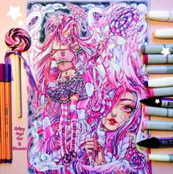 +~+ Lollipop Angel Ceci +~+ coloring video by MroczniaK