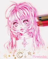 + Pink Ran-chan + by MroczniaK