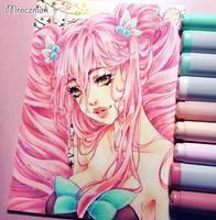 Pink Hair by MroczniaK