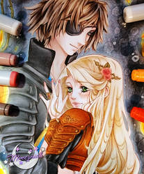 ~ Masamune and Briar ~ by MroczniaK