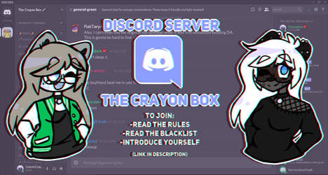 They Crayon Box|Discord Server!! by CosmicCrayons