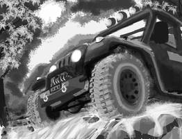 Jeep by A-S-Knight