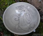 Clinging Dragon Bowl by tser