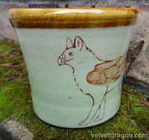Lupogryph (Wolf Gryphon) Cup by tser