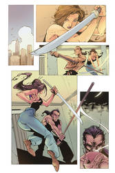 Sequential Page 8 Randy Green  Colors by kcspaghetti