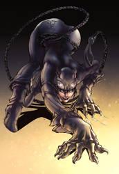 Catwoman by kcspaghetti