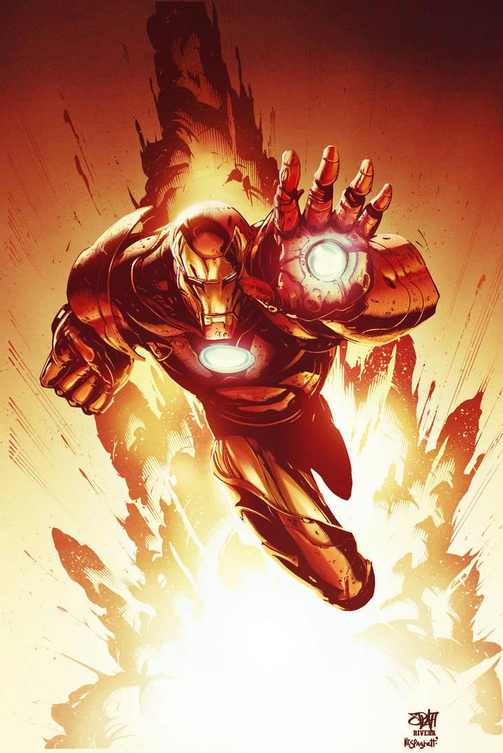 Iron Man by kcspaghetti
