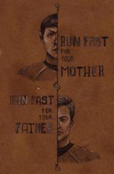 Run Fast by LadyRoxanne7