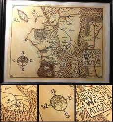 Belgariad Map by LadyRoxanne7