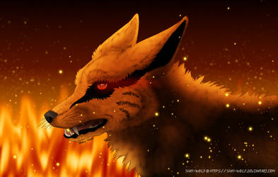 The color of fire (+ speedpaint) by Shay-Wolf