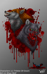Mad Alpha and the Mad-Eyed King by Shay-Wolf