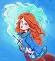 Ginny Weasley by zeynepozatalay