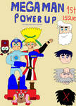 Megaman PowerUp Issue #1 the legendary blue bomber by coleroboman