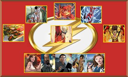 My The Flash Family Team Meme by coleroboman