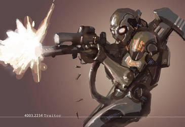 generic video game bad guy by leinilyu