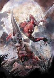 Spider-man by leinilyu