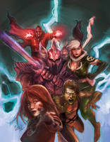 X-men Legacy 241 cover by leinilyu