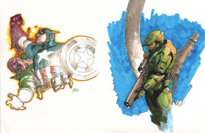 Markers by leinilyu
