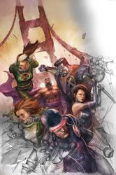 X-men Legacy 242 cover by leinilyu