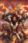 x-men legacy 243 cover by leinilyu