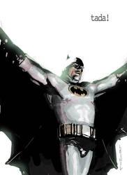 batman sketch by leinilyu
