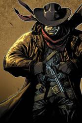 gunslinger colored by leinilyu