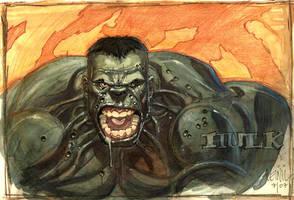 hulk smash by leinilyu